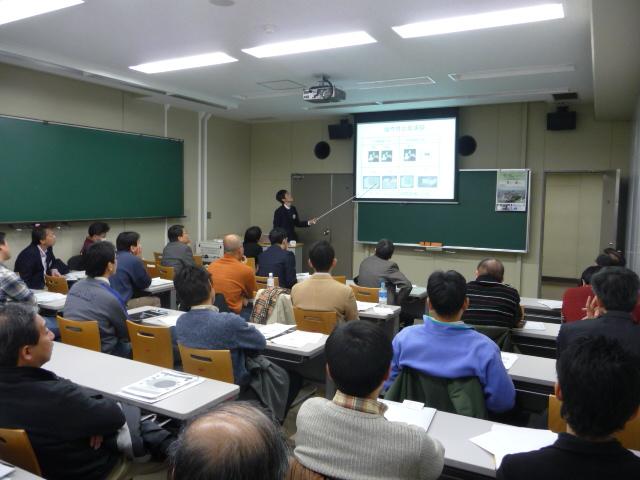 2009春同窓会講演会|舟橋くん