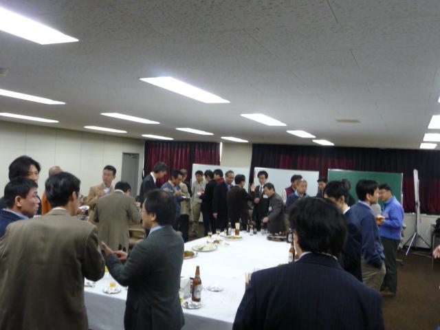 2009春同窓会懇親会1