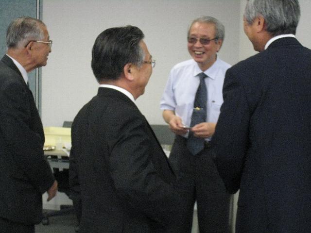 2008懇親会/村奈嘉先生
