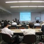 2009夏同窓会/新任先生講演/新妻先生