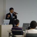 2009夏同窓会/OB講演会/竹村審査官