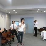 2009夏同窓会/懇談会/村奈嘉研OB代表/岩永さん